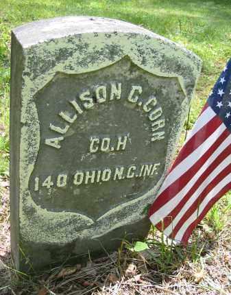 CORN, ALLISON C. - Gallia County, Ohio | ALLISON C. CORN - Ohio Gravestone Photos