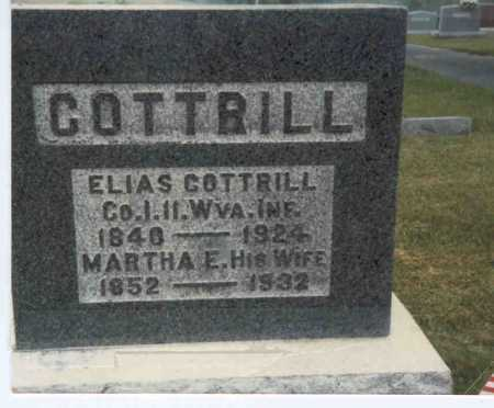 LEWIS COTTRILL, MARTHA ELLEN - Gallia County, Ohio | MARTHA ELLEN LEWIS COTTRILL - Ohio Gravestone Photos