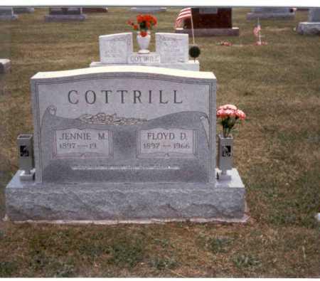 COTTRILL, FLOYD - Gallia County, Ohio | FLOYD COTTRILL - Ohio Gravestone Photos