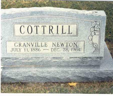 COTTRILL, GRANVILLE NEWTON - Gallia County, Ohio | GRANVILLE NEWTON COTTRILL - Ohio Gravestone Photos