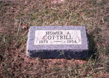 COTTRILL, HOMER A. - Gallia County, Ohio | HOMER A. COTTRILL - Ohio Gravestone Photos