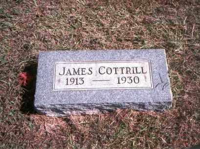 COTTRILL, JAMES - Gallia County, Ohio   JAMES COTTRILL - Ohio Gravestone Photos