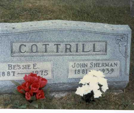 COTTRILL, JOHN SHERMAN - Gallia County, Ohio   JOHN SHERMAN COTTRILL - Ohio Gravestone Photos