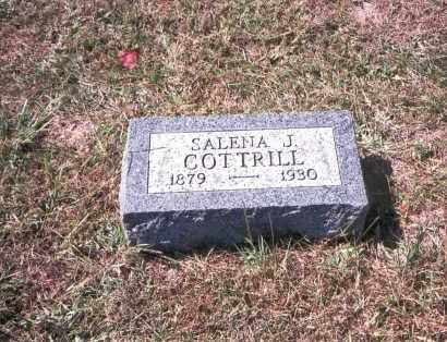 COTTRILL, SALENA J. - Gallia County, Ohio   SALENA J. COTTRILL - Ohio Gravestone Photos