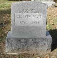 DAVIS, CELESTE - Gallia County, Ohio | CELESTE DAVIS - Ohio Gravestone Photos