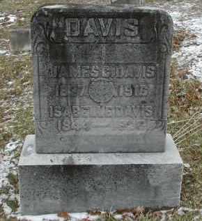 DAVIS, ISABELLE - Gallia County, Ohio | ISABELLE DAVIS - Ohio Gravestone Photos