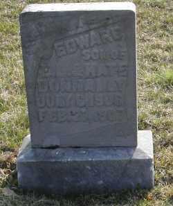 DONNALLY, EDWARD - Gallia County, Ohio   EDWARD DONNALLY - Ohio Gravestone Photos