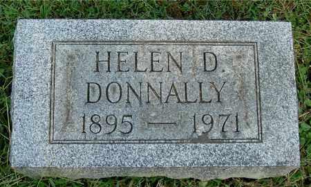 DONNALLY, HELEN D - Gallia County, Ohio   HELEN D DONNALLY - Ohio Gravestone Photos
