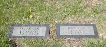 DYAS, SUSANNAH - Gallia County, Ohio   SUSANNAH DYAS - Ohio Gravestone Photos