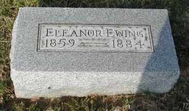 EWING, ELEANOR - Gallia County, Ohio | ELEANOR EWING - Ohio Gravestone Photos