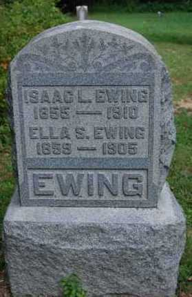 EWING, ISAAC L. - Gallia County, Ohio | ISAAC L. EWING - Ohio Gravestone Photos
