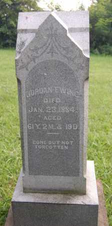 EWING, JORDAN - Gallia County, Ohio | JORDAN EWING - Ohio Gravestone Photos