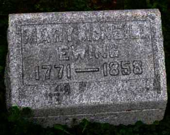 EWING, MARY MCNEILL - Gallia County, Ohio | MARY MCNEILL EWING - Ohio Gravestone Photos