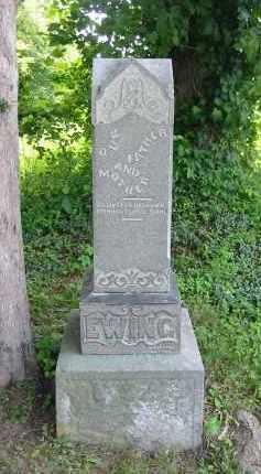 EWING, ABRAM M. - Gallia County, Ohio | ABRAM M. EWING - Ohio Gravestone Photos