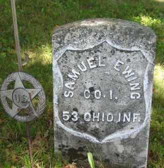 EWING, SAMUEL - Gallia County, Ohio | SAMUEL EWING - Ohio Gravestone Photos