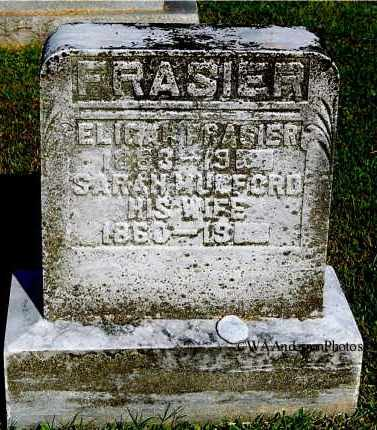 FRASIER, ELIGAH - Gallia County, Ohio | ELIGAH FRASIER - Ohio Gravestone Photos