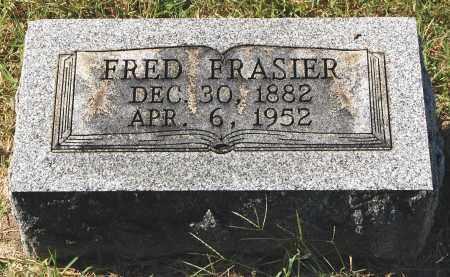 FRASIER, FRED - Gallia County, Ohio | FRED FRASIER - Ohio Gravestone Photos