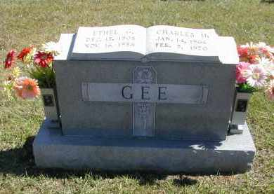GEE, ETHEL - Gallia County, Ohio | ETHEL GEE - Ohio Gravestone Photos