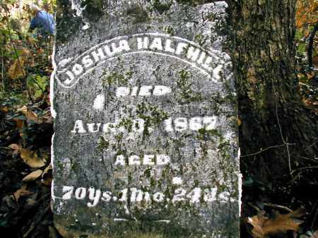HALFHILL, JOSHUA - Gallia County, Ohio | JOSHUA HALFHILL - Ohio Gravestone Photos
