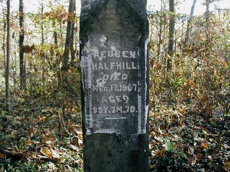 HALFHILL, REUBEN - Gallia County, Ohio | REUBEN HALFHILL - Ohio Gravestone Photos