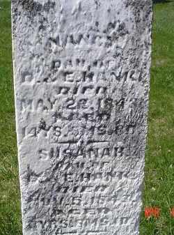 HANK, NANCY - Gallia County, Ohio | NANCY HANK - Ohio Gravestone Photos