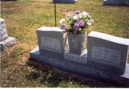 SNYDER HARDER, DORIS - Gallia County, Ohio | DORIS SNYDER HARDER - Ohio Gravestone Photos