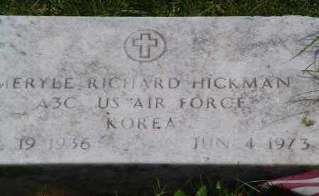 HICKMAN, MERYLE - Gallia County, Ohio   MERYLE HICKMAN - Ohio Gravestone Photos