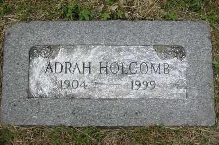 HOLCOMB, ADRAH - Gallia County, Ohio | ADRAH HOLCOMB - Ohio Gravestone Photos