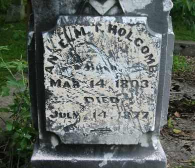 HOLCOMB, ANSELM T. - Gallia County, Ohio | ANSELM T. HOLCOMB - Ohio Gravestone Photos