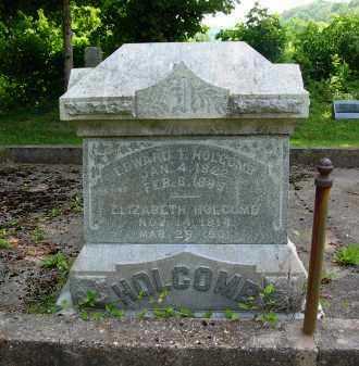 MITCHELL HOLCOMB, ELIZABETH - Gallia County, Ohio   ELIZABETH MITCHELL HOLCOMB - Ohio Gravestone Photos