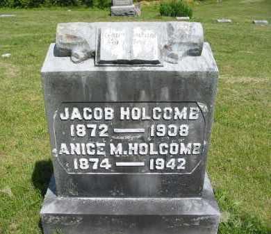 HOLCOMB, JACOB - Gallia County, Ohio | JACOB HOLCOMB - Ohio Gravestone Photos