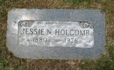 HOLCOMB, JESSIE N. - Gallia County, Ohio | JESSIE N. HOLCOMB - Ohio Gravestone Photos