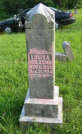 HOLCOMB, LOUISA - Gallia County, Ohio | LOUISA HOLCOMB - Ohio Gravestone Photos