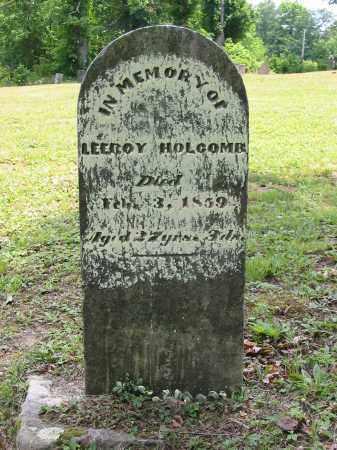 HOLCOMB, LEEROY - Gallia County, Ohio | LEEROY HOLCOMB - Ohio Gravestone Photos