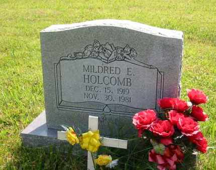 HOLCOMB, MILDRED E. - Gallia County, Ohio | MILDRED E. HOLCOMB - Ohio Gravestone Photos