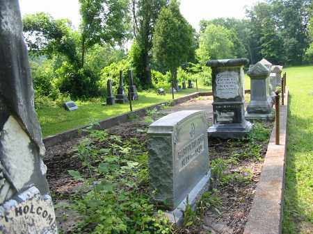 HOLCOMB CEMETERY, PLOT FOR FAMILY - VIEW 1 - Gallia County, Ohio | PLOT FOR FAMILY - VIEW 1 HOLCOMB CEMETERY - Ohio Gravestone Photos