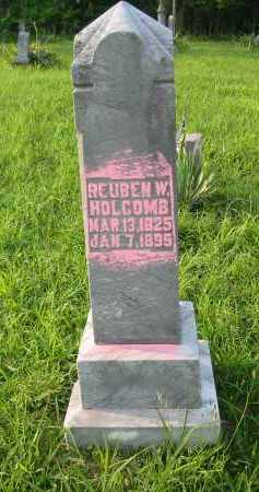 HOLCOMB, REUBEN W. - Gallia County, Ohio | REUBEN W. HOLCOMB - Ohio Gravestone Photos