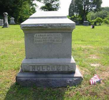 HOLCOMB, ZARAH - Gallia County, Ohio | ZARAH HOLCOMB - Ohio Gravestone Photos