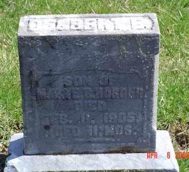 HORGER, DELBERT E. - Gallia County, Ohio | DELBERT E. HORGER - Ohio Gravestone Photos