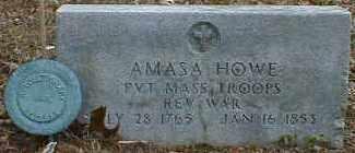 HOWE, AMASA - Gallia County, Ohio | AMASA HOWE - Ohio Gravestone Photos
