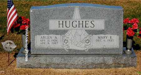 HUGHES, ARLEN A - Gallia County, Ohio | ARLEN A HUGHES - Ohio Gravestone Photos