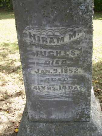 HUGHES, HIRAM M. - Gallia County, Ohio | HIRAM M. HUGHES - Ohio Gravestone Photos