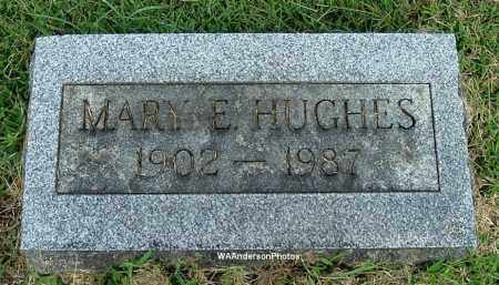 HUGHES, MARY E - Gallia County, Ohio | MARY E HUGHES - Ohio Gravestone Photos