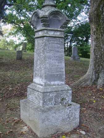 HUGHES, NANCY - OVERALL VIEW - Gallia County, Ohio | NANCY - OVERALL VIEW HUGHES - Ohio Gravestone Photos