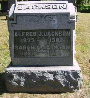 JACKSON, SARAH - Gallia County, Ohio   SARAH JACKSON - Ohio Gravestone Photos