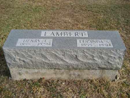 LAMBERT, HENRY T. - Gallia County, Ohio | HENRY T. LAMBERT - Ohio Gravestone Photos