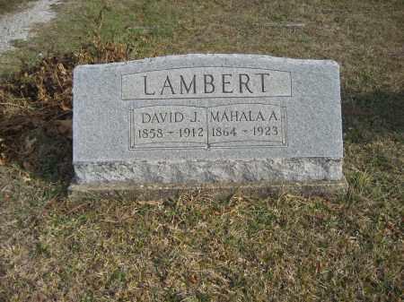 LAMBERT, MAHALA A. - Gallia County, Ohio | MAHALA A. LAMBERT - Ohio Gravestone Photos