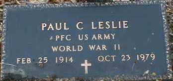LESLIE, PAUL - Gallia County, Ohio | PAUL LESLIE - Ohio Gravestone Photos