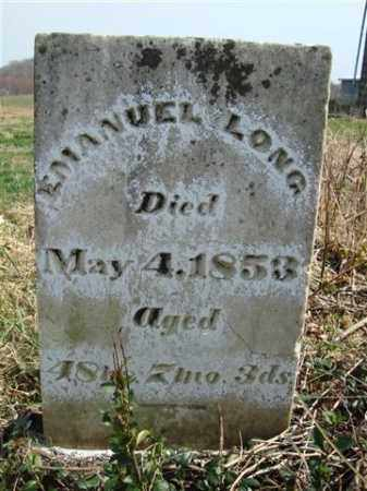 LONG, EMANUEL - Gallia County, Ohio   EMANUEL LONG - Ohio Gravestone Photos