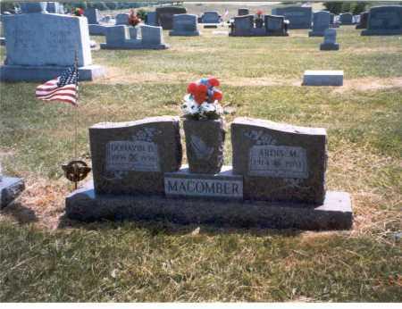 MACOMBER, DONAVIN - Gallia County, Ohio | DONAVIN MACOMBER - Ohio Gravestone Photos